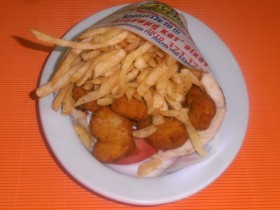 Πίτα Κοτομπουκίες - Chicken Fresh -   Ηράκλειο Κρήτης