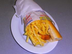 Σάντουιτς με Κοτομπουκιές - Chicken Fresh -   Ηράκλειο Κρήτης