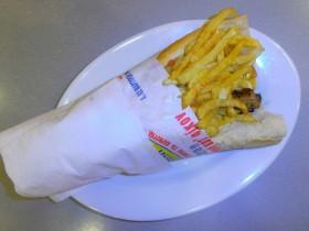 Σάντουιτς με Σουβλάκι - Chicken Fresh -   Ηράκλειο Κρήτης