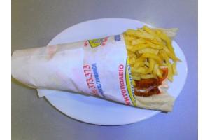 Σάντουιτς με Κοτομπιφτέκι γεμιστό - Chicken Fresh -   Ηράκλειο Κρήτης