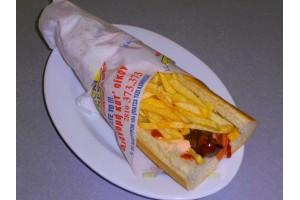 Σάντουιτς Λουκάνικο - Chicken Fresh -   Ηράκλειο Κρήτης
