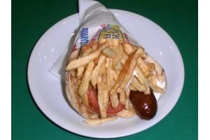 Πίτα Λουκάνικο - Chicken Fresh -   Ηράκλειο Κρήτης
