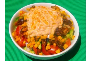 Κοτoγυροσαλάτα - Chicken Fresh -   Ηράκλειο Κρήτης